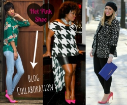 Hot Pink Shoes Blogger Collaboration Living After Midnite Churchdress