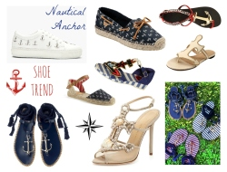 Shoe Trend Nautical Anchor